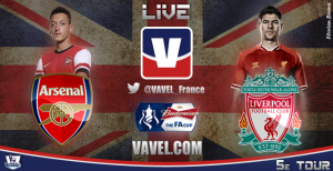 Live Arsenal - Liverpool, le match en direct