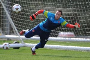 David Opsina's chance to shine with Szczesny suspension