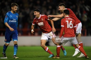 Nottingham Forest 4-2 Arsenal: Holders knocked out in classic FA Cup tie