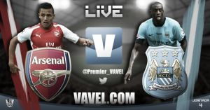 Arsenal vs Manchester City Live Score and Stream of Premier League 2014