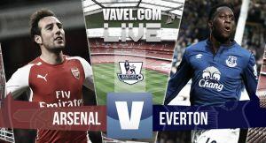 Arsenal vs Everton en vivo y en directo online