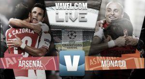 Resultado Arsenal vs Mónaco en vivo (1-3)