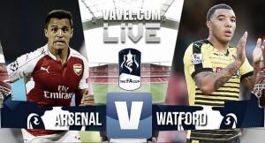 Arsenal 1-2 Watford: Decepción Arsenal, histórico Watford
