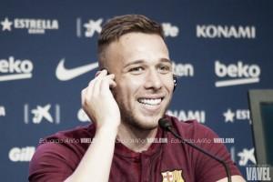 """Arthur: """"Siempre deseé jugar en el Barça"""""""