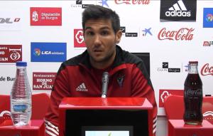 """Álvaro Corral: """"El conjunto va a luchar por cotas altas"""""""