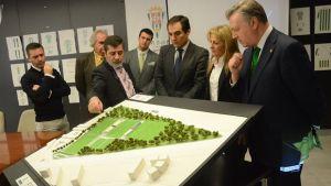 Se presenta la futura ciudad deportiva Fundación CCF
