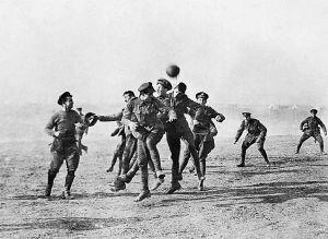 El partido de la Gran Guerra
