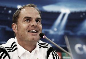 """De Boer: """"Estaremos preparados para lo que está por venir en Europa League"""""""