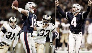 SuperBowl XXXVI: el día que comenzó la leyenda de Tom Brady