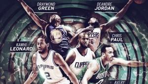 Anunciado el quinteto defensivo del año en la NBA