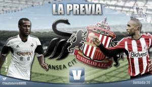 Swansea - Sunderland: a prolongar el éxito