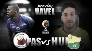 Deportivo Pasto vs Atlético Huila: a recuperarse de la derrota