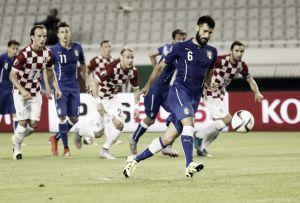 Italia pasa el examen de Split con un punto que sabe a preocupación