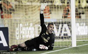Villarreal rocked by Sergio Asenjo injury news