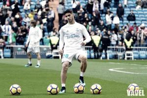El Real Madrid toca balón por primera vez en 2018