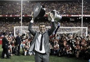 """Luis Enrique celebra título em último jogo pelo Barça: """"É a melhor maneira para se despedir"""""""