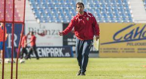 """Asier Garitano: """"Nuestra idea de juego es la misma, se llame Betis o Real Madrid"""""""
