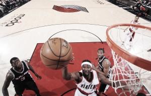 No fim do jogo, Noah Vonleh faz cesta da vitória e Blazers vencem Spurs de virada