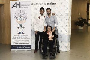 La Fundación Málaga CF, reconocida por la Asociación Mercader