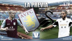 Aston Villa - Swansea City: la necesidad villana recibe a un cisne relajado