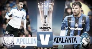 Risultato Apollon - Atalanta in diretta, LIVE Europa League 2017/18 - Ilicic(r), Zelaya! (1-1)