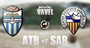 Atlético Baleares - CE Sabadell: al asalto de la zona alta