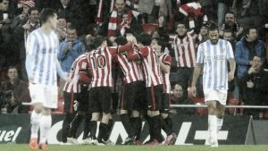 Athletic 1-0 Malaga: Aduriz goal advances Athletic