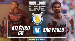 Resultado Atlético-GO x São Paulo pelo Campeonato Brasileiro 2017 (0-1)
