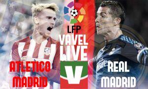 Risultato Atletico Madrid - Real Madrid di Liga BBVA (1-1): Benzema non basta, Vietto rimonta