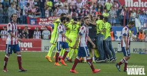 Fotos e imágenes del Atlético de Madrid 0-1 Barcelona, jornada 37 de Liga BBVA