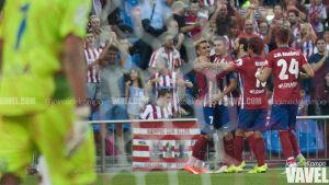 Fotos e imágenes del Atlético de Madrid 1-0 Las Palmas, jornada 1 de Liga BBVA