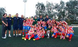 Pontevedra se rindió al Atlético de Madrid