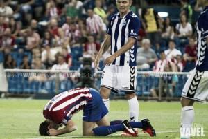Manu García moja la pólvora del Atlético en el último suspiro
