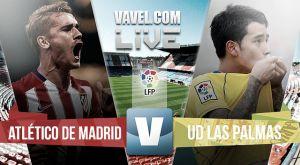 Resultado Atlético de Madrid  vs UD Las Palmas (1-0)