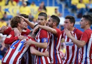 Manita dell'Atletico Madrid al Las Palmas, Simeone perde Griezmann