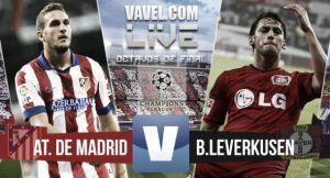 Live Atletico Madrid - Bayer Leverkusen, diretta risultato Champions League (4-2 dcr)