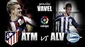 Atlético de Madrid - Deportivo Alavés: primera batalla