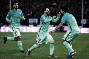Atletico Madrid - Barcellona in diretta, La Liga 2017/18 LIVE (1-1): Suarez risponde a Saul, è parità al Metropolitano!