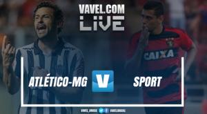 Resultado Sport x Atlético-MG no Campeonato Brasileiro 2017 (1-1)