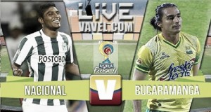 Resultado final: Atlético Nacional - Atlético Bucaramanga en la Liga Águila 2016 (7-0)