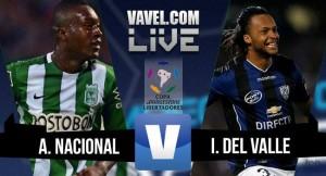 Resultado Atlético Nacional vs Independiente Del Valle en final Copa Libertadores (1-0)