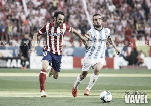 Resultado Atlético de Madrid vs Málaga (3-1)