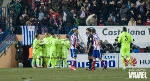 El Atlético de Madrid no puede con el Barça