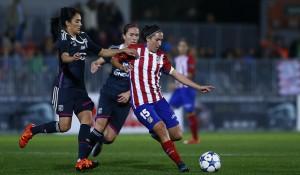 El Atlético Féminas no puede con 'Goliat' Hegerberg