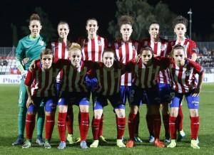 Atlético Madrid Féminas - Olympique de Lyon: puntuaciones Atleti en la ida de 1/8 Champions League