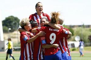 El Atlético de Madrid profesionaliza toda su sección femenina