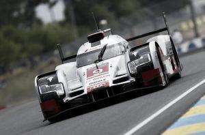 Warm Up della 24 Ore di Le Mans targato Audi R18 e-tron Quattro
