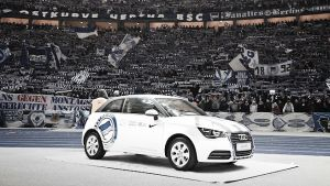 Audi extend deal with Hertha BSC
