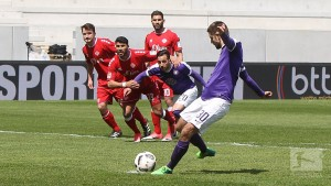 Erzgebirge Aue 3-1 Würzburger Kickers: First-half blitz sees Aue up to 13th