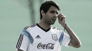 Augusto, lesionado en el Alemania - Argentina